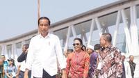 Presiden Joko Widodo (Jokowi) didampingi Menteri Badan Usaha Milik Negara, Rini M Soemarno mengunjungi Kabupaten Sibolga. Dok BUMN