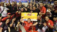 Tim putri Jakarta Pertamina Energi (JPE) keluar sebagai juara di seri ketiga putaran pertama Proliga 2020 (istimewa)