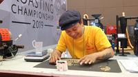 Roaster kopi senior dari Bali, Sermy Samma. foto: istimewa