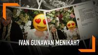 Ivan Gunawan membuat warganet heboh di Instagram. Ia mengunggah foto seperti sedang melangsungkan akad nikah dengan seorang wanita.
