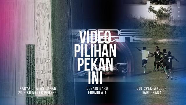 Berita 3 Video Pilihan Minggu Ini, Gol Spektakuler dari Liga Ghana dan Desain Baru Mobil Formula 1