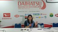 Susy Susanti mengungkapkan jika PBSI bakal menggenjot sektor tunggal putri setelah gagal total di Indonesia Masters 2018. (Bola.com/Budi Prasetyo Harsono)