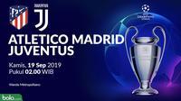 Liga Champions - Atletico Madrid Vs Juventus (Bola.com/Adreanus Titus)