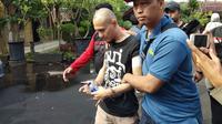 Pelaku penyerangan Polsek Penjaringan, Jakarta Utara. (Liputan6.com/Ady Anugrahadi)