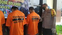 Mencuri Beras Untuk Hura-Hura, 4 Pemuda Gorontalo Diringkus (Arfandi Ibrahim/Liputan6.com)