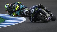 Pembalap Monster Energy Yamaha MotoGP, Maverick Vinales (PIERRE-PHILIPPE MARCOU / AFP)