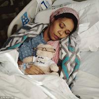 Michelle Myers mengalami perubahan suara saat ia bagun dari tidur. (Sumber Foto: dailymail)