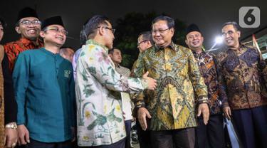 Prabowo Sambangi Markas PKB