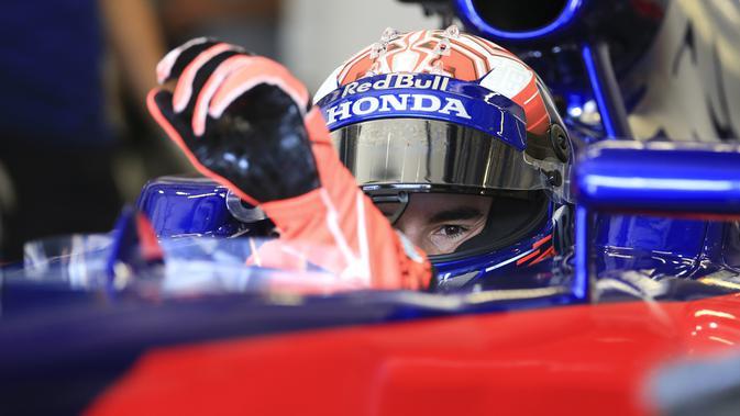 Marc Marquez menjajal mobil F1 di Red Bull Ring (AFP/ERWIN SCHERIAU)