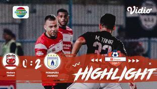 Babak Penyisihan #ShopeeLiga1 yang mempertemukan #Madura United FC vs #Persipura Jayapura pada hari Minggu malam (03/11/2019) deng...