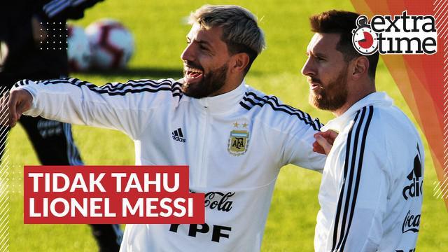 Berita video Extra Time kali ini membahas cerita singkat tentang momen Sergio Aguero tidak tahu sosok bintang Barcelona, Lionel Messi.