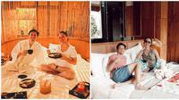 Momen babymoon istri Andrew Andika di usia kandungan ke-6 di Bali. (Sumber: Instagram/@andrewandika)
