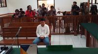 Direktur Keuangan First Travel, Kiki Hasibuan,  jalani sidang pembacaan pleidoi (Liputan6.com/Ady Nugrahadi)