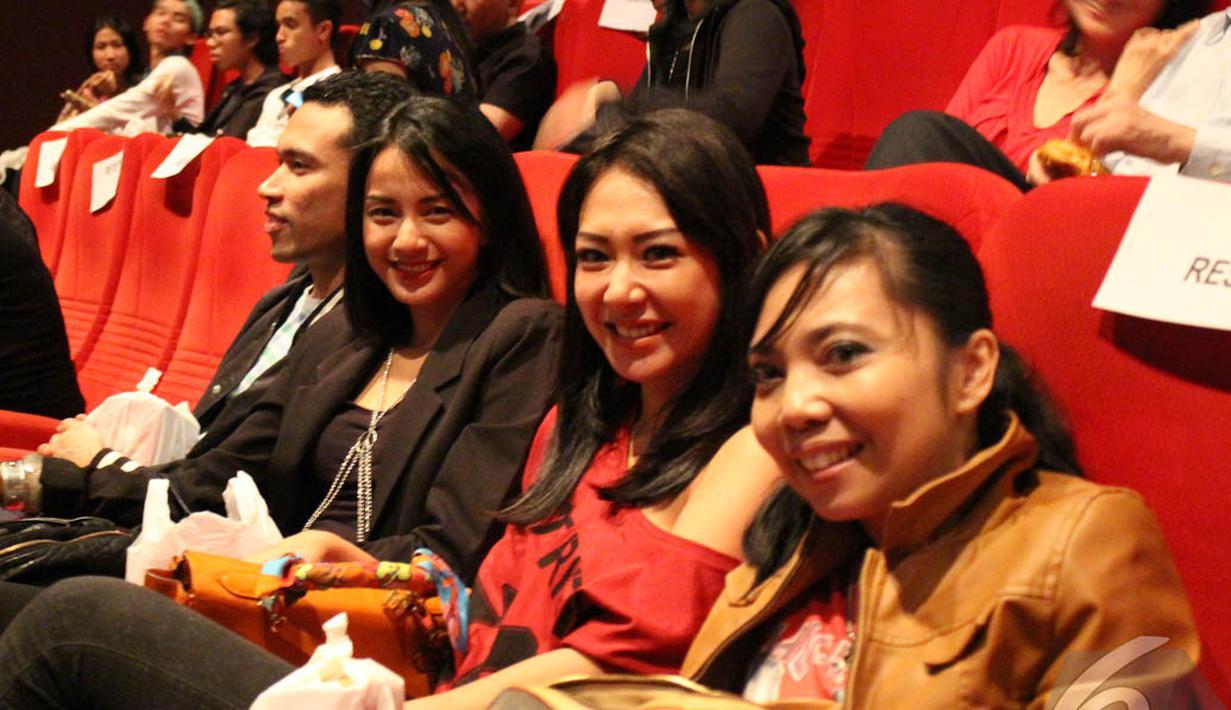 Penayangan premier Film Deliver Us From Evil di Djakarta Theater menarik minat para selebriti (Liputan6.com/Gilar Dhani)