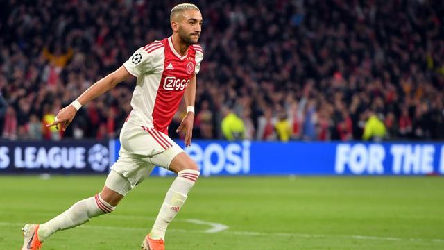 Winger Ajax Amsterdam, Hakim Ziyech.