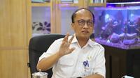 Sekretaris Jenderal Kementerian Ketengakerjaan, Anwar Sanusi, dalam sambutannya secara virtual pada acara Review Kurikulum dan Silabus Politeknik Ketenagakerjaan Tahun 2021, di Jakarta, Rabu (24/3/2021).