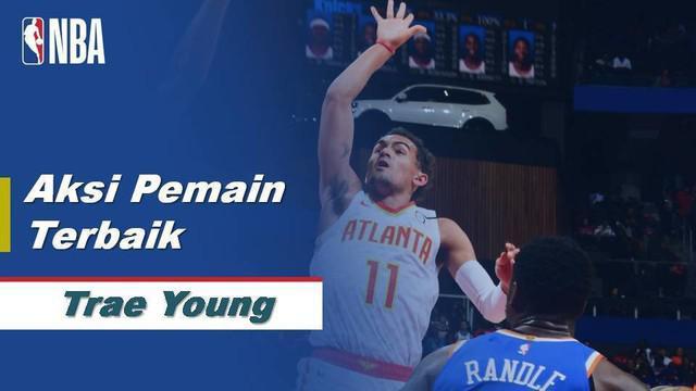 Berita Video Trae Young Cetak 42 Poin Saat Atlanta Hawks Dikalahkan New York Knicks 136-131