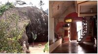 Meski tampak luar seperti batu, penampakan di dalam rumah ini tampak mewah. (Sumber: YouTube/Baper Tv)