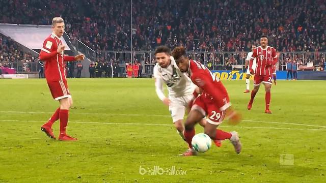 Berita video pemain terbaik pekan ke-14 Bundesliga 2017-2018 adalah pemain Bayern Munchen, Kingsley Coman. This video presented by BallBall.
