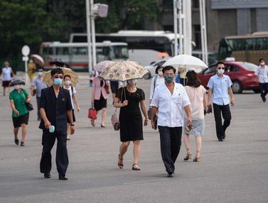 Panas Menyengat, Suhu di Korea Utara Capai 34 Derajat Celcius