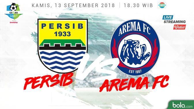 Arema Vs Indonesia: Live Streaming Liga 1 2018 Di Indosiar: Persib Vs Arema FC