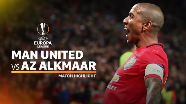 Berita video highlights Europa League antara Manchester United vs AZ Alkmaar dengan skor 4-0.