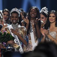 Zozibini Tunzi, Miss Universe 2019. (VALERIE MACON / AFP)