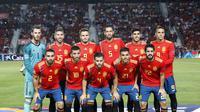 Spanyol didominasi pemain Real Madrid  (AP Photo/Alberto Saiz)