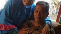 Gigi palsu itu tertelan anggota TNI saat asyik makan kapurung di rumah kerabatnya. (dok.istimewa)