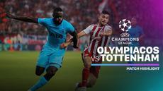 Berita video highlights Liga Champions 2019-2020 antara Olympiakos melawan Tottenham Hotspur yang berakhir dengan skor 2-2, Rabu (18/9/2019).