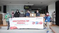 PT Pertamina (Persero) telah menyalurkan bantuan senilai lebih dari Rp. 2 miliar sebagai bentuk kepedulian perusahaan terhadap kondisi pandemi dalam penanganan Covid-19.