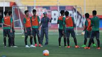 Pelatih Timnas Indonesia U-16, Fakhri Husaini, menyebut timnya siap tempur di Piala AFF U-16 2018 karena para pemainnya sudah semakin kompak dan padu. (dok. PSSI)