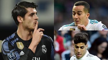 Real Madrid terkenal dengan taktik transfer menarik kembali pemain yang sempat dipinjamkan dan dijual. Alhasil banyak diantara pesepak bola berikut menjadi pilar utama Real Madrid musim ini (Kolase foto AFP).