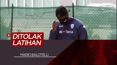 Berita Video Detik - Detik Mario Balotelli Ditolak Masuk Arena Latihan Brescia