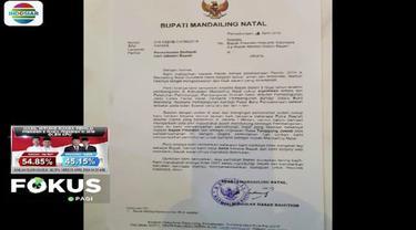 Mendagri Tjahjo Kumolo meminta Gubernur Sumatera Utara Edy Rahmayadi menanyai alasan bupati Mandailing Natal mengundurkan diri.
