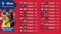 Live streaming pertandingan NBA 2020/2021 pekan kelima dapat disaksikan melalui platform Vidio. (Dok. Vidio)