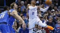 Russell Westbrook Membantu Thunder Kalahkan Mavericks (AP)