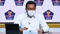 Juru Bicara Satgas COVID-19 Wiku Adisasmito menyampaikan minggu ketiga November 2020, testing yang dilakukan mencapai sekitar 88,6 persen saat konferensi pers di Kantor Presiden, Jakarta, Selasa (24/11/2020). (Biro Pers Sekretariat Presiden)