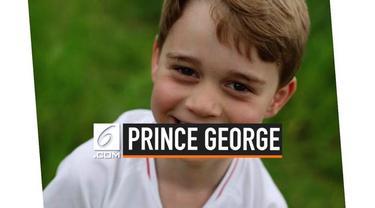 Hari ini, Pangeran William dan Kate MIddleton membagikan foto terbaru Pangeran George di akun instagram mereka di hari ulang tahunnya yang ke- 6.