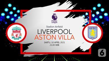 Prediksi Liverpool vs Aston Villa