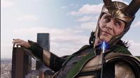 Tom Hiddleston sebagai Loki di film The Avengers. (fanpop.com / Marvel Studios / Disney)