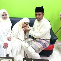 Bukannya sedih, perempuan ini malah bahagia melihat suaminya menikah lagi, dan postingannya pun langsung menjadi viral. (Foto: Facebook/Lela Qaseh Arrayyan Arfan)
