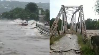 6 Video Amatir Bencana Alam di NTT, Banjir Bandang hingga Jembatan Roboh