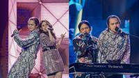 Tissa Biani dan Dul Jaelani manggung bareng (Sumber: Instagram/tissabiani)