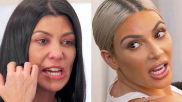 [Bintang] Kim Kardashian - Kourtney Kardashian