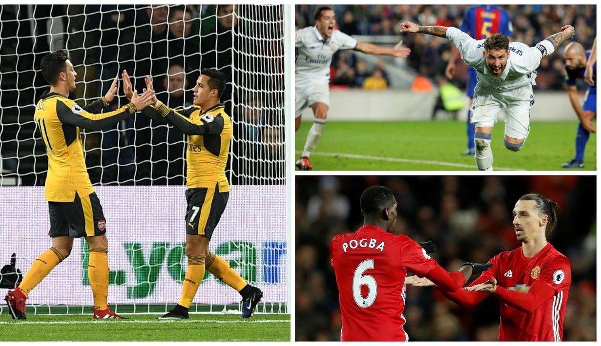 Inilah 6 klub sepak bola terkaya dunia pada tahun 2015 menurut majalah bisnis asal Amerika Serikat, Forbes. (AFP-Reuters)