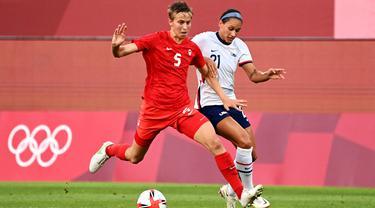 Pesepak Bola Kanada Bakal Jadi Transgender Pertama Peraih Medali Olimpiade