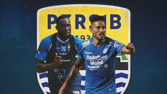 Persib vs Borneo FC: Ezra Walian Terancam Absen, Geoffrey Castillion Berpeluang Starter