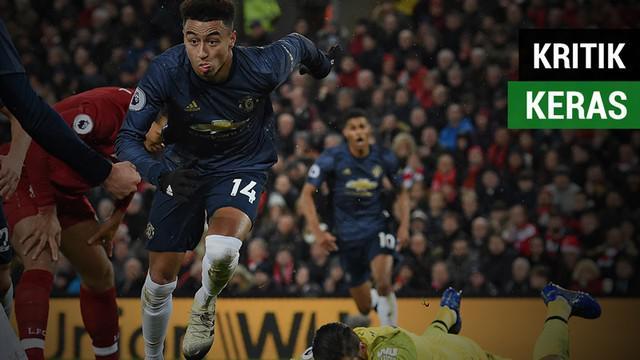 Berita video Manchester United mendapat kritik keras dari 3 legenda dan mantan pemain setelah kalah 1-3 dari Liverpool pada pekan ke-17 Premier League 2018-2019, Minggu (16/12/2018).