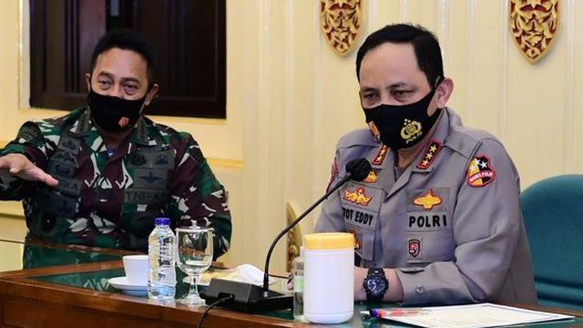 Komjen Gatot dan jenderal andika di DIY. ©2020 Merdeka.com/istimewa